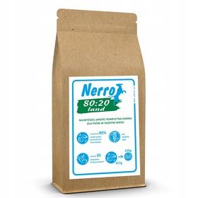 karma sucha dla psa NERRO 80:20 LAND 2kg
