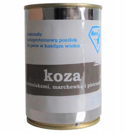 karma mokra dla psa NERRO Mono KOZA 800g (1)